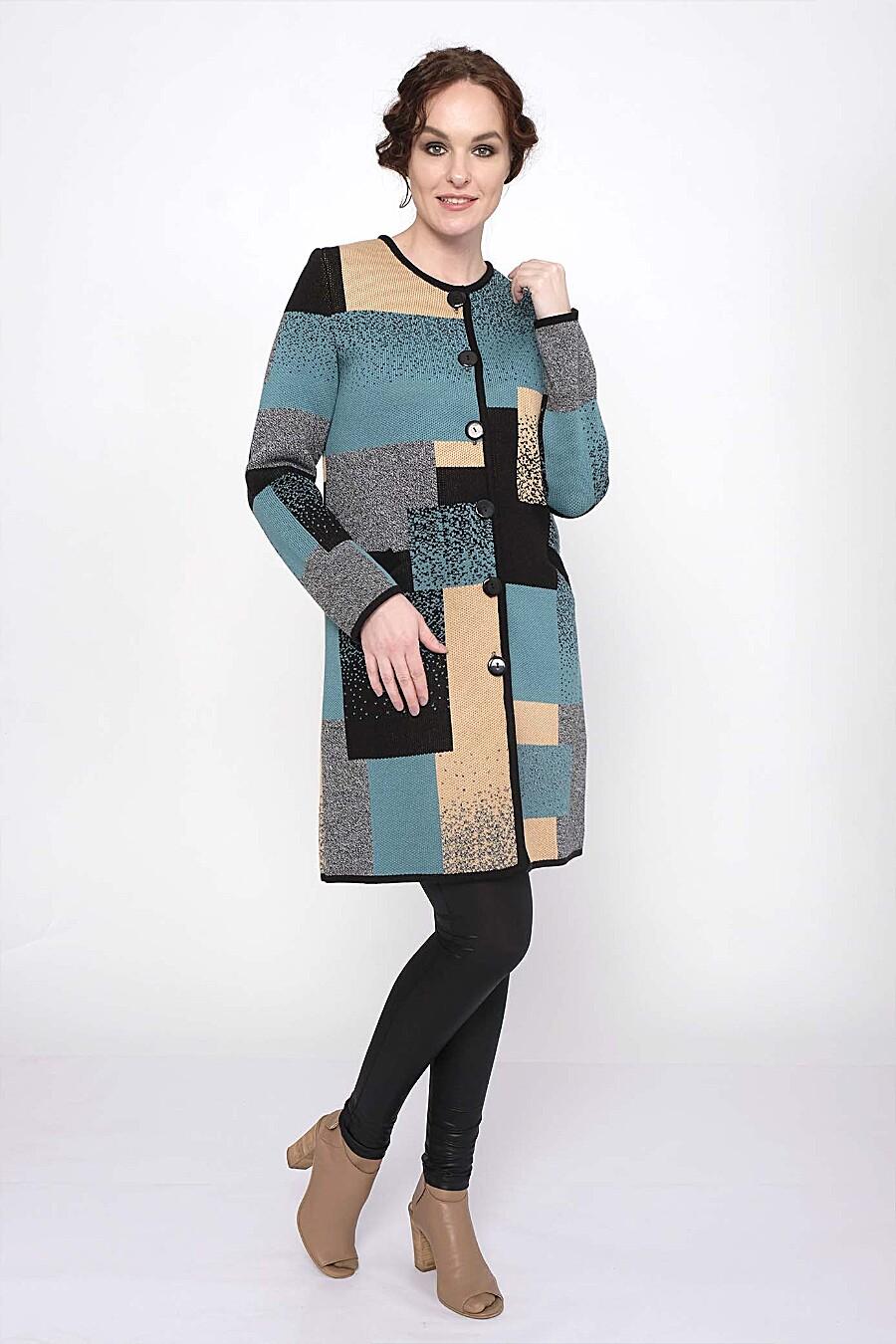Кардиган для женщин ANKOLI 184359 купить оптом от производителя. Совместная покупка женской одежды в OptMoyo