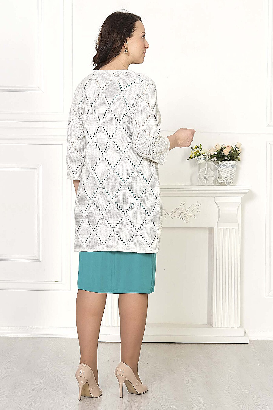 Кардиган для женщин ANKOLI 184390 купить оптом от производителя. Совместная покупка женской одежды в OptMoyo