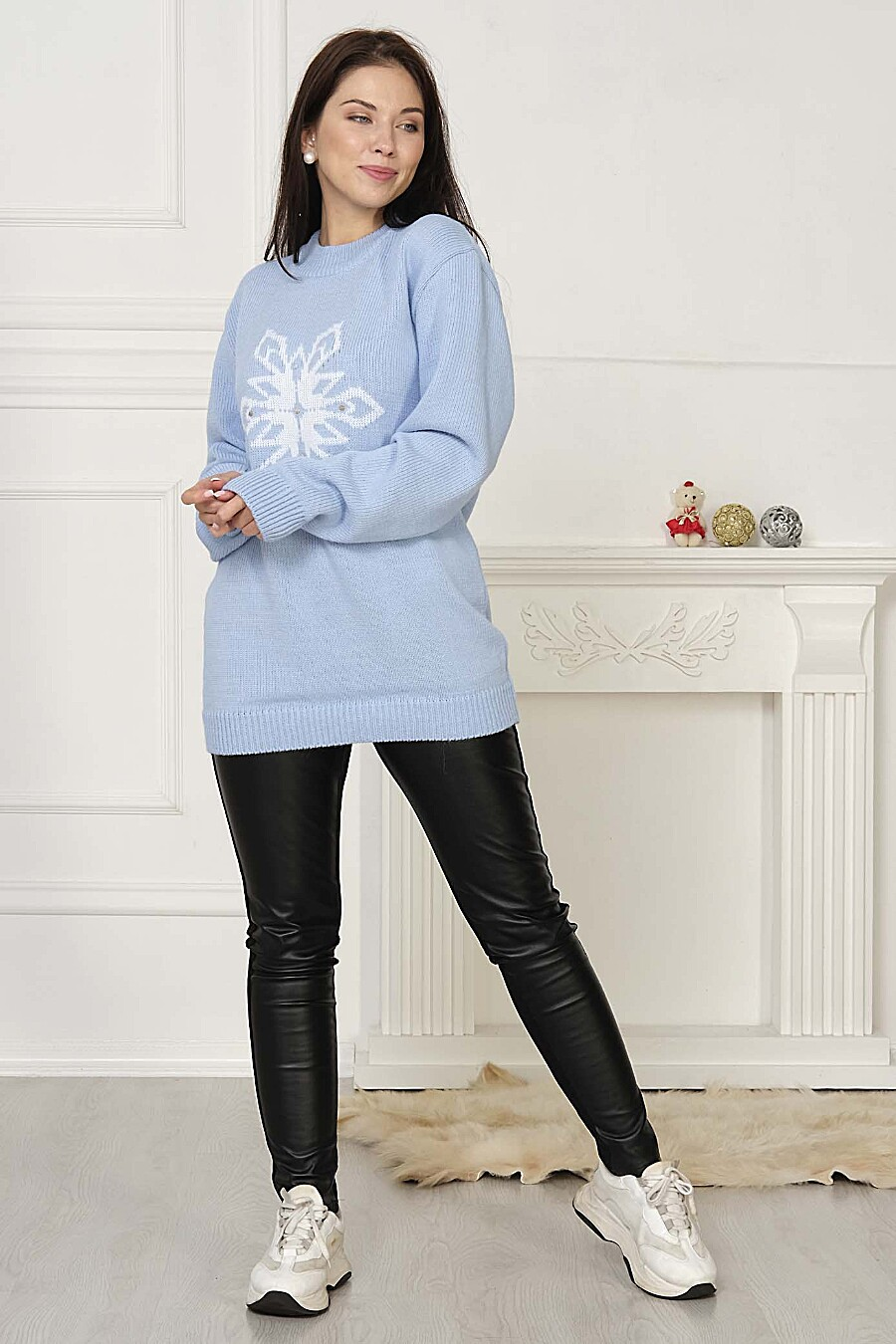 Джемпер для женщин ANKOLI 184508 купить оптом от производителя. Совместная покупка женской одежды в OptMoyo