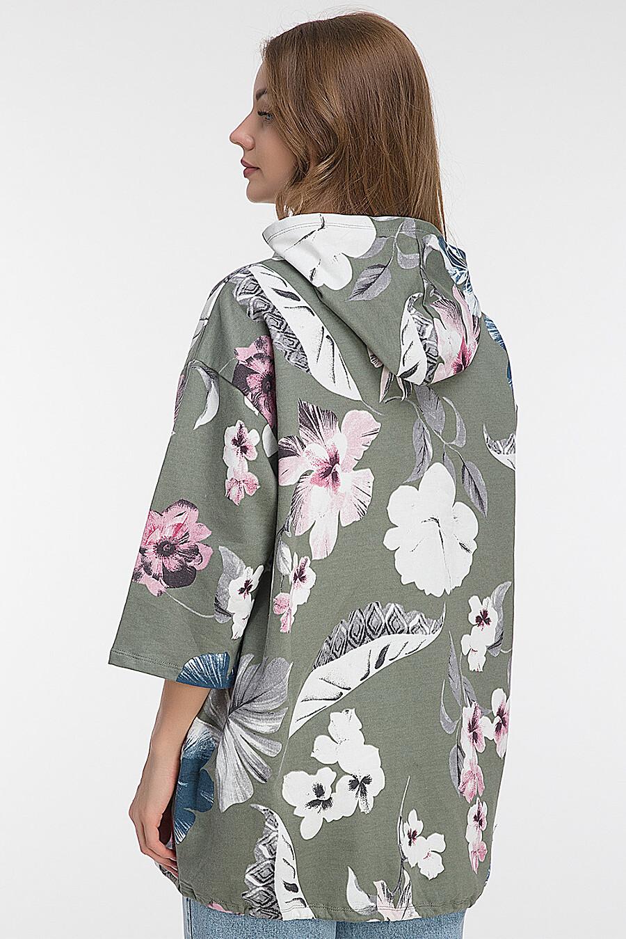 Ветровка для женщин MODALIME 184571 купить оптом от производителя. Совместная покупка женской одежды в OptMoyo