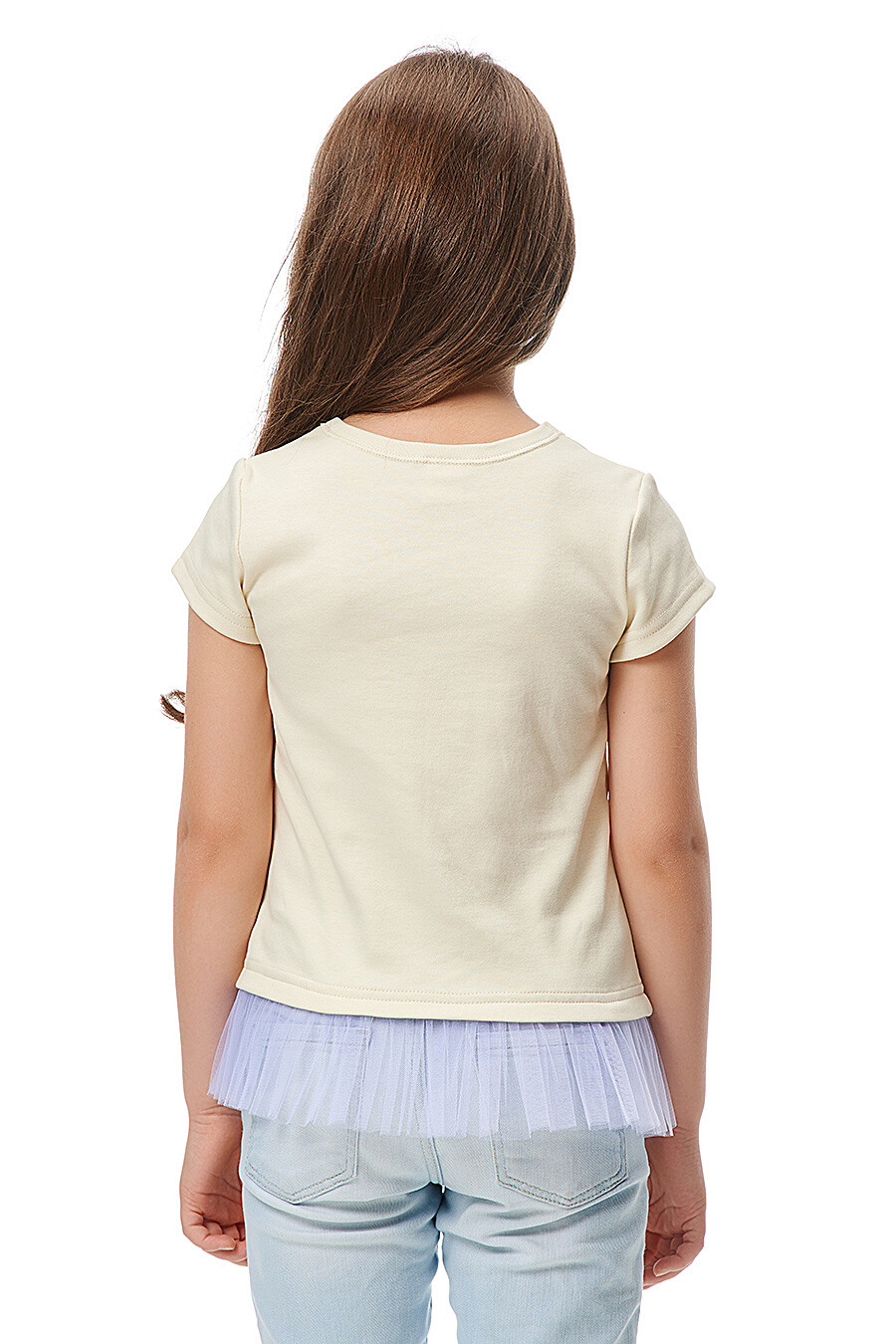 Футболка для девочек LUCKY CHILD 184680 купить оптом от производителя. Совместная покупка детской одежды в OptMoyo