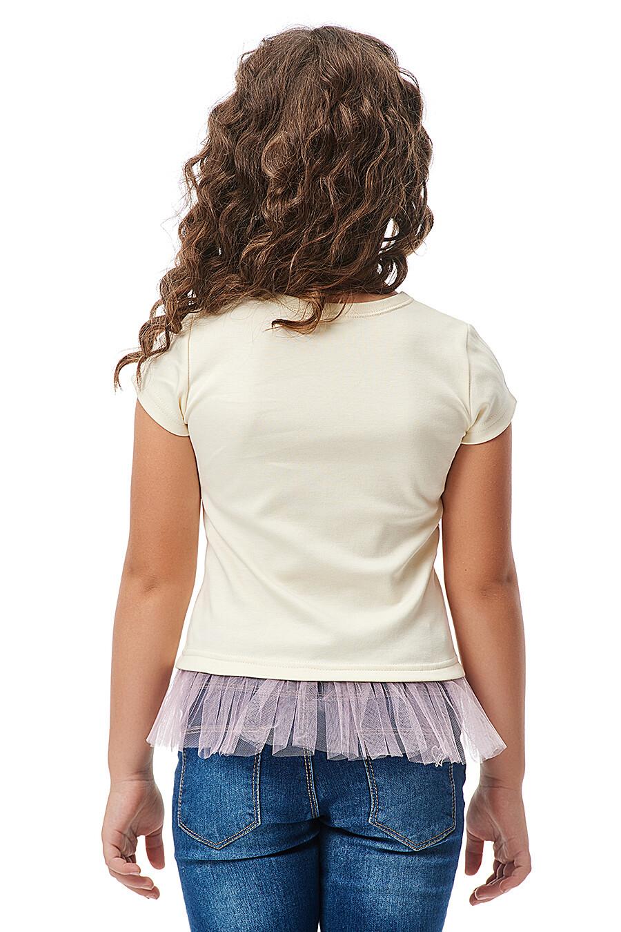 Футболка для девочек LUCKY CHILD 184682 купить оптом от производителя. Совместная покупка детской одежды в OptMoyo