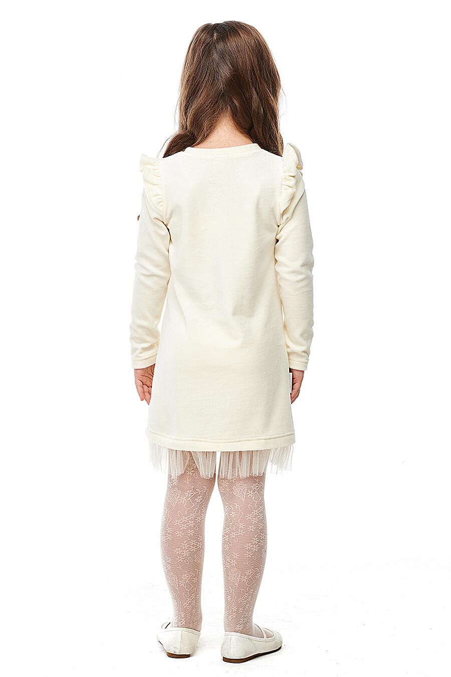 Платье для девочек LUCKY CHILD 184758 купить оптом от производителя. Совместная покупка детской одежды в OptMoyo