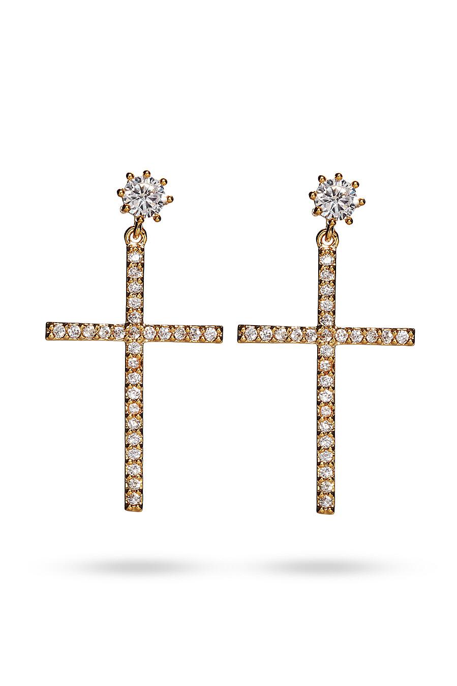 Серьги кресты Под крышами Парижа для женщин Nothing But Love 204896 купить оптом от производителя. Совместная покупка женской одежды в OptMoyo