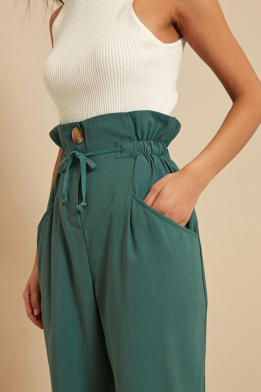 Брюки для женщин ZARINA 204998 купить оптом от производителя. Совместная покупка женской одежды в OptMoyo