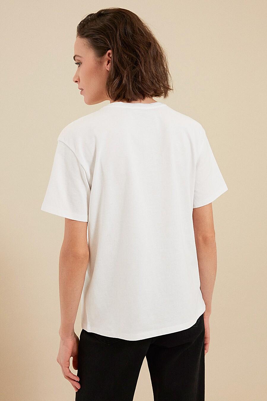 Футболка для женщин ZARINA 205182 купить оптом от производителя. Совместная покупка женской одежды в OptMoyo