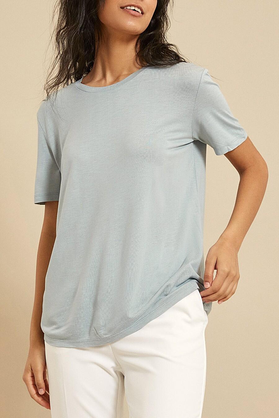 Футболка для женщин ZARINA 205189 купить оптом от производителя. Совместная покупка женской одежды в OptMoyo