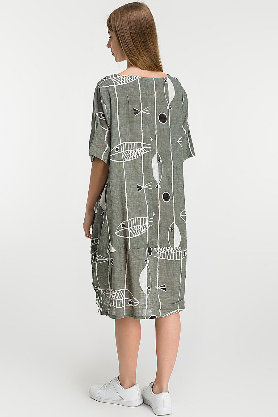 Платье для женщин MODALIME 218361 купить оптом от производителя. Совместная покупка женской одежды в OptMoyo
