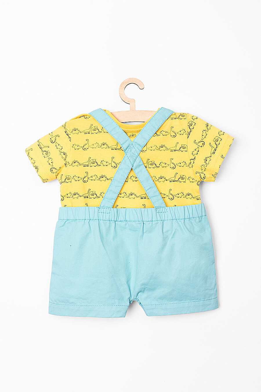 Комплект (Футболка + Шорты)  для мальчиков 5.10.15 218409 купить оптом от производителя. Совместная покупка детской одежды в OptMoyo