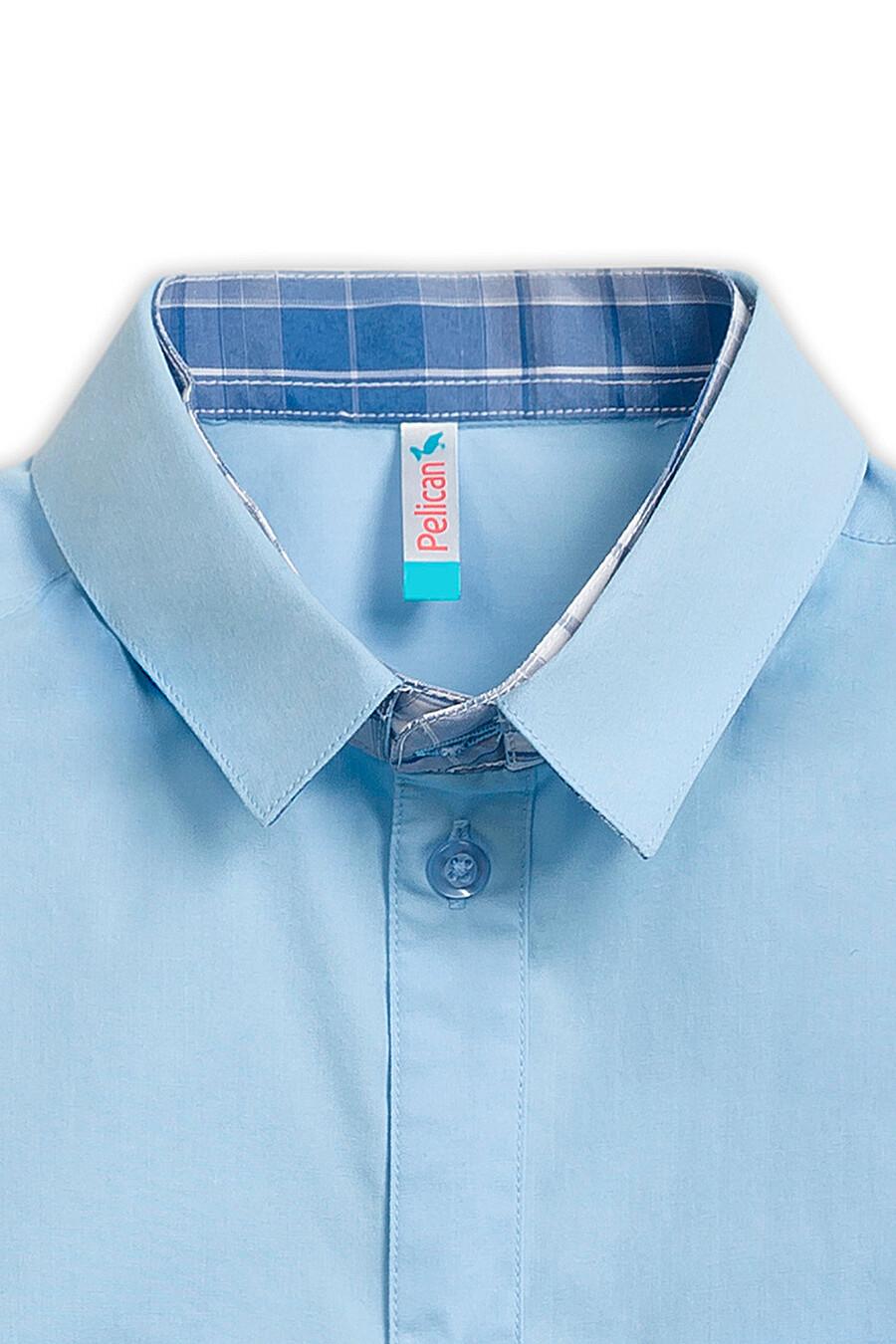 Сорочка для мальчиков PELICAN 218516 купить оптом от производителя. Совместная покупка детской одежды в OptMoyo