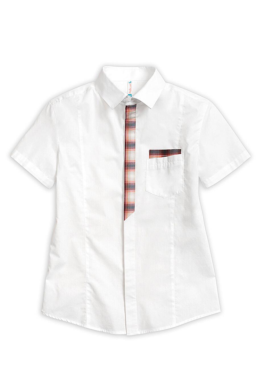 Сорочка для мальчиков PELICAN 218529 купить оптом от производителя. Совместная покупка детской одежды в OptMoyo