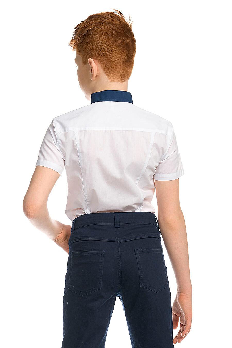 Сорочка для мальчиков PELICAN 218532 купить оптом от производителя. Совместная покупка детской одежды в OptMoyo