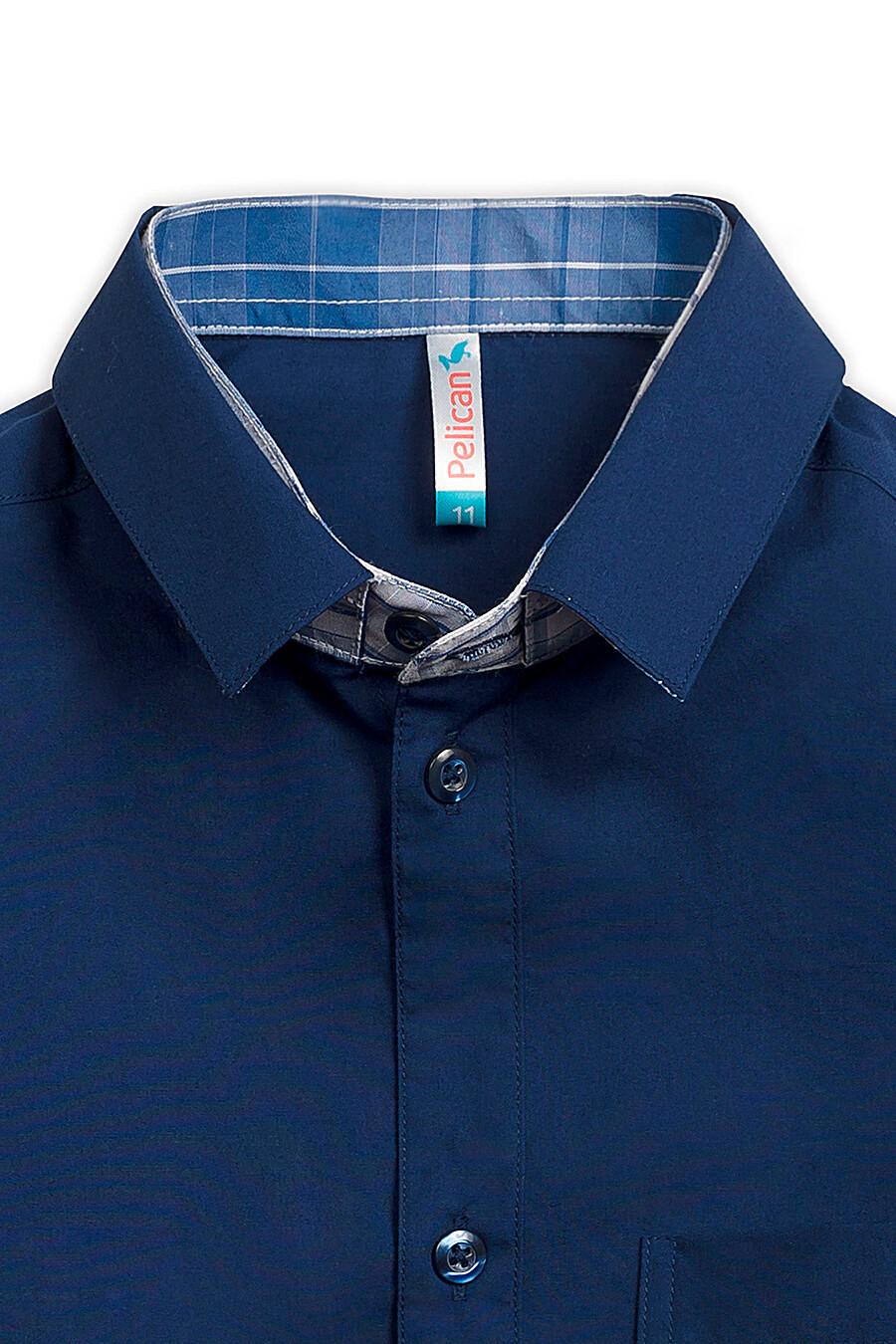 Сорочка для мальчиков PELICAN 218545 купить оптом от производителя. Совместная покупка детской одежды в OptMoyo