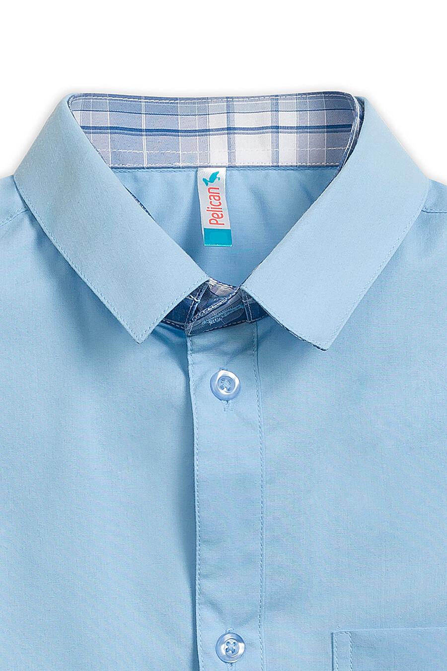 Сорочка для мальчиков PELICAN 218578 купить оптом от производителя. Совместная покупка детской одежды в OptMoyo