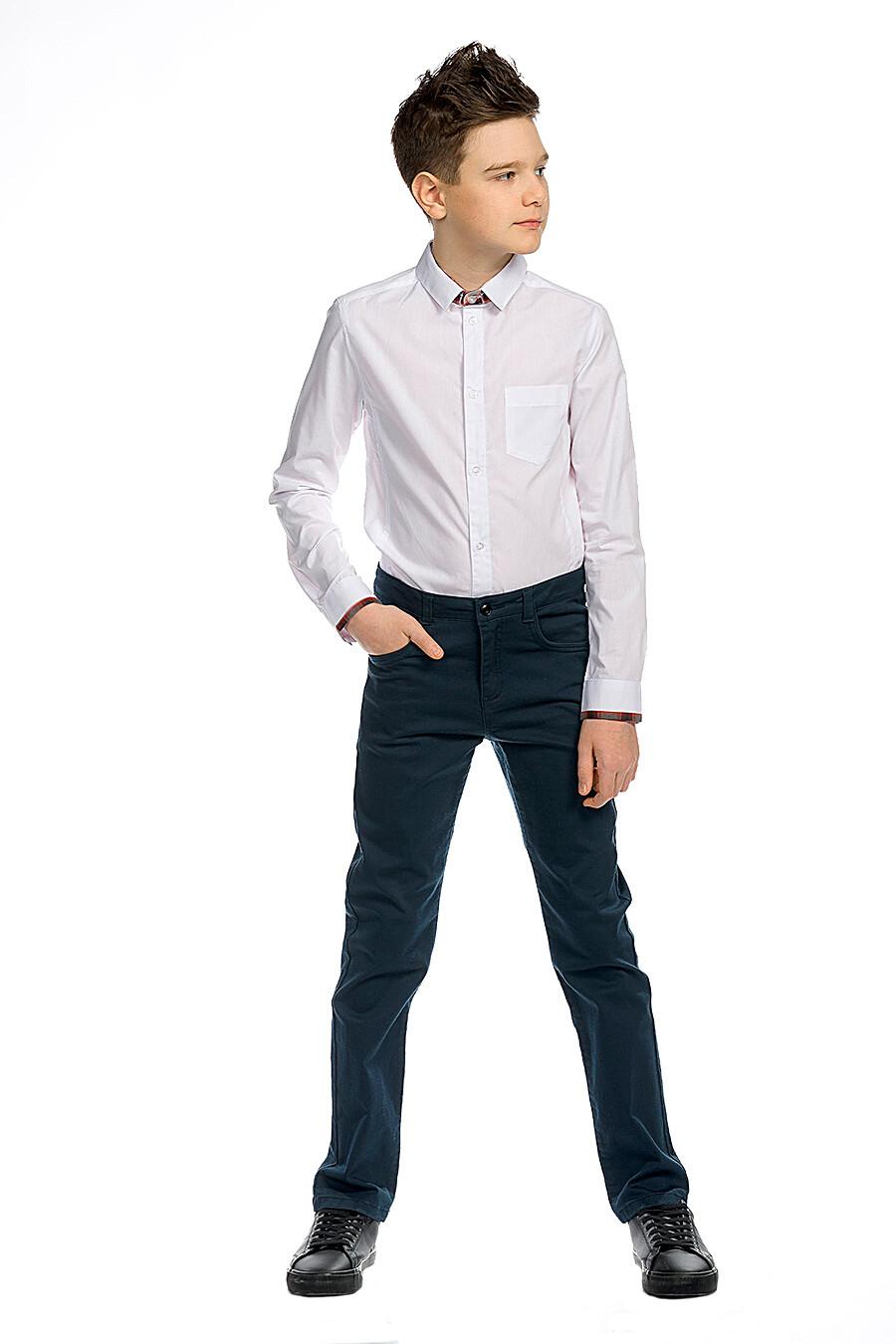 Брюки для мальчиков PELICAN 218600 купить оптом от производителя. Совместная покупка детской одежды в OptMoyo