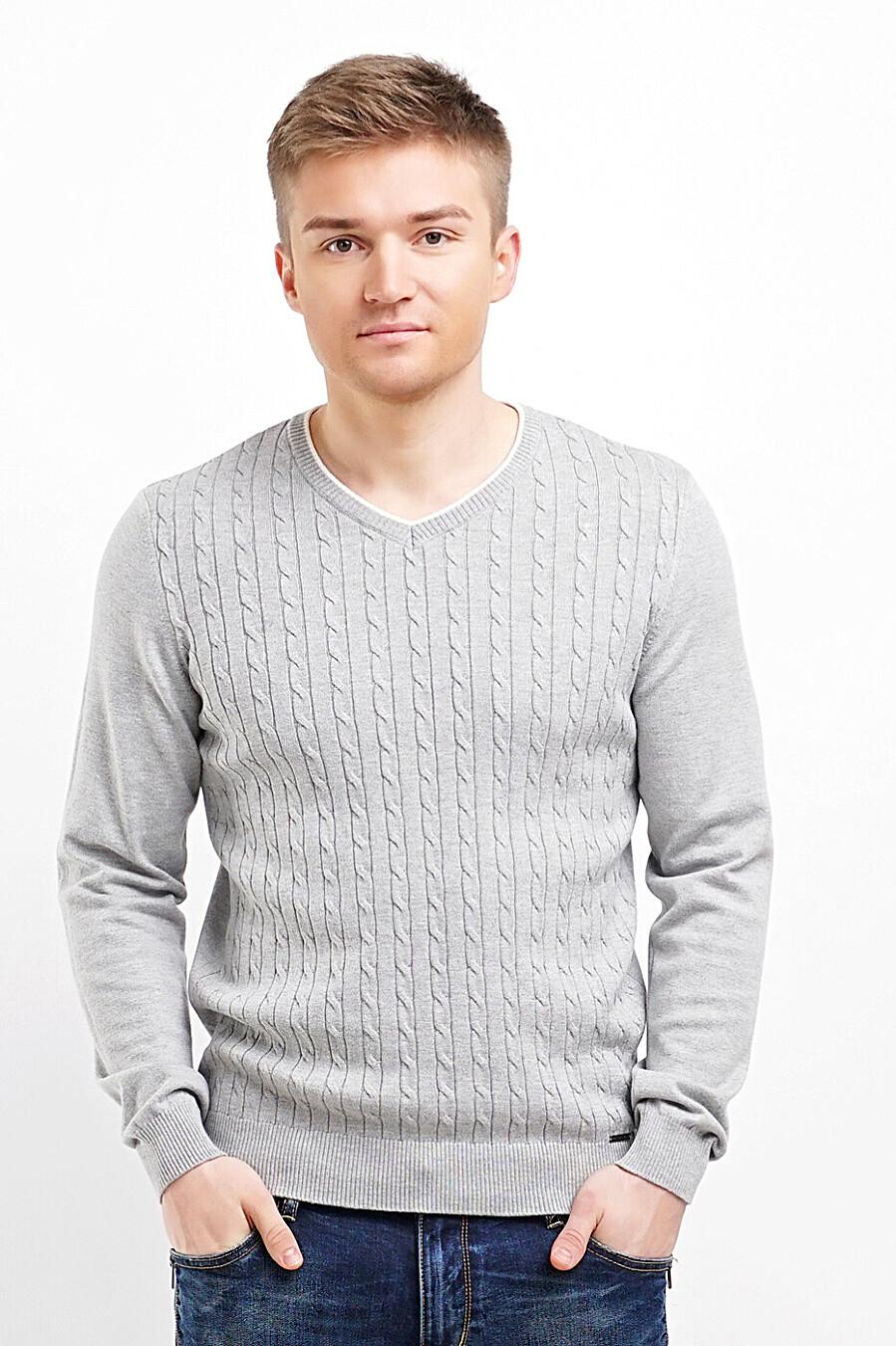 Джемпер для мужчин CLEVER 219465 купить оптом от производителя. Совместная покупка мужской одежды в OptMoyo