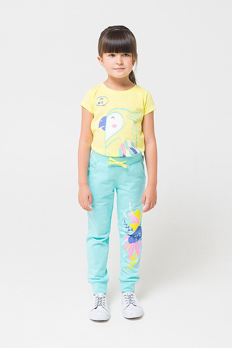 Брюки для девочек CROCKID 219824 купить оптом от производителя. Совместная покупка детской одежды в OptMoyo