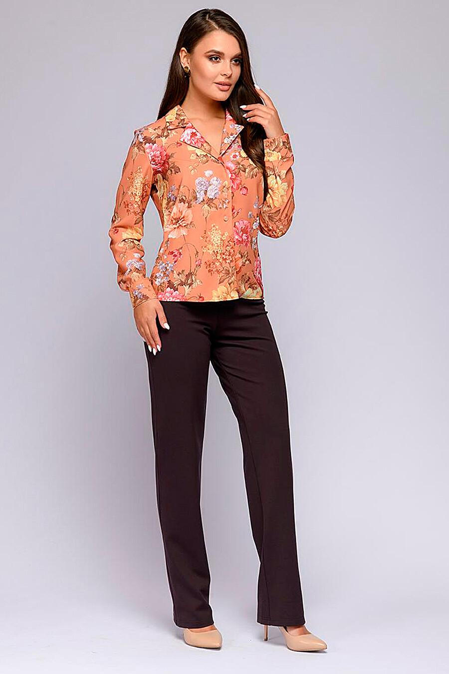 Блуза для женщин 1001 DRESS 219963 купить оптом от производителя. Совместная покупка женской одежды в OptMoyo