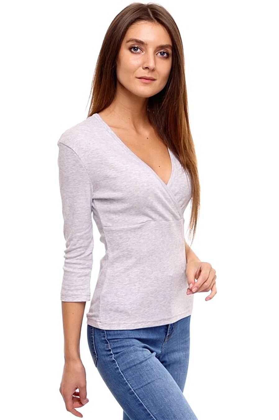 Лонгслив  для женщин Archi 239031 купить оптом от производителя. Совместная покупка женской одежды в OptMoyo