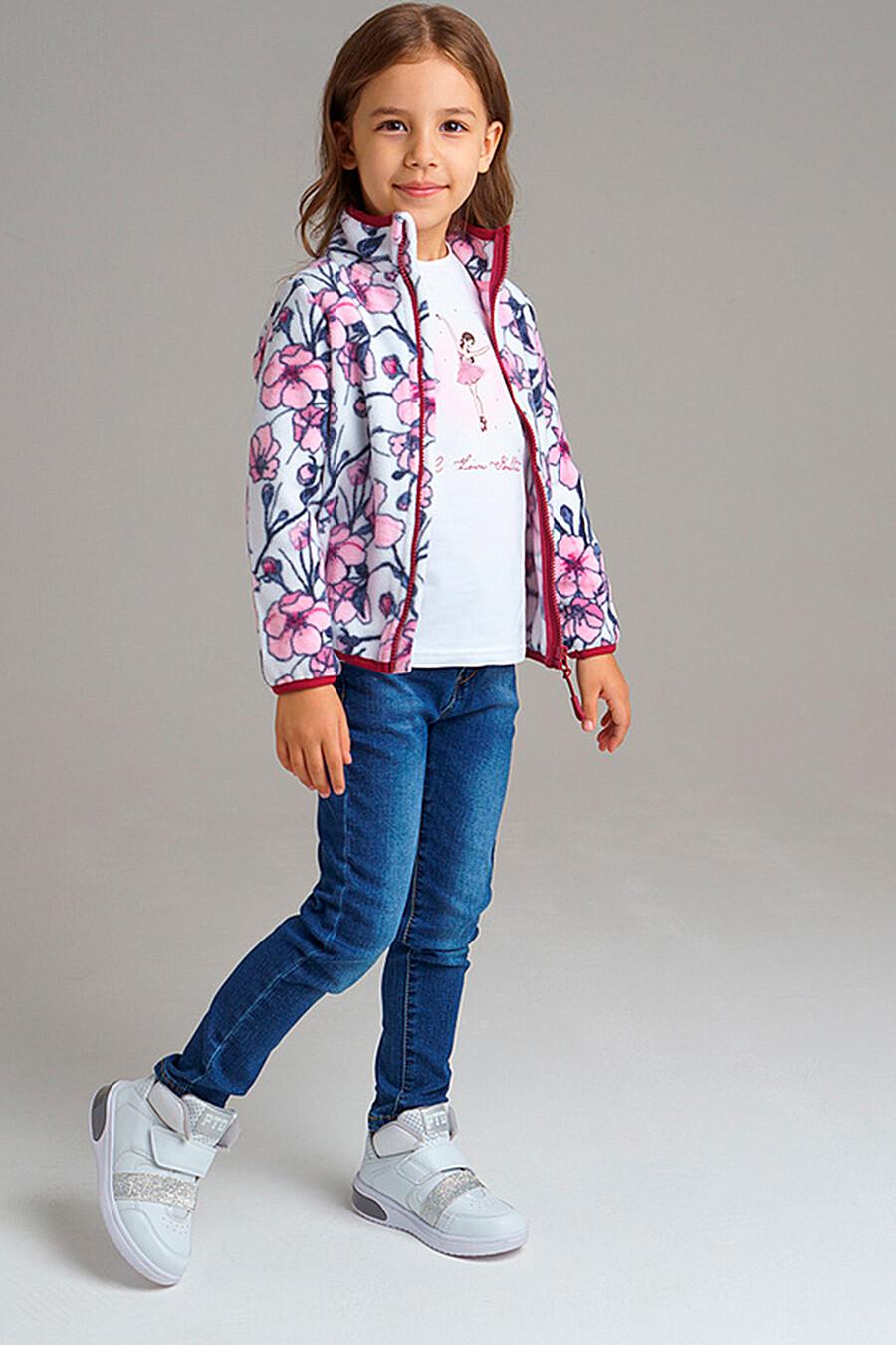 Толстовка для девочек PLAYTODAY 239048 купить оптом от производителя. Совместная покупка детской одежды в OptMoyo