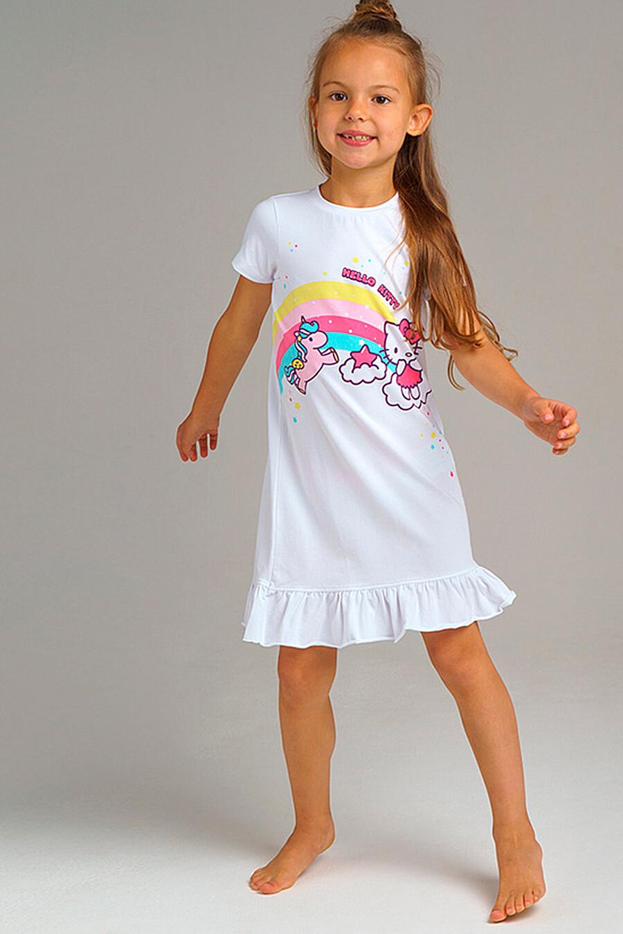Сорочка для девочек PLAYTODAY 239430 купить оптом от производителя. Совместная покупка детской одежды в OptMoyo