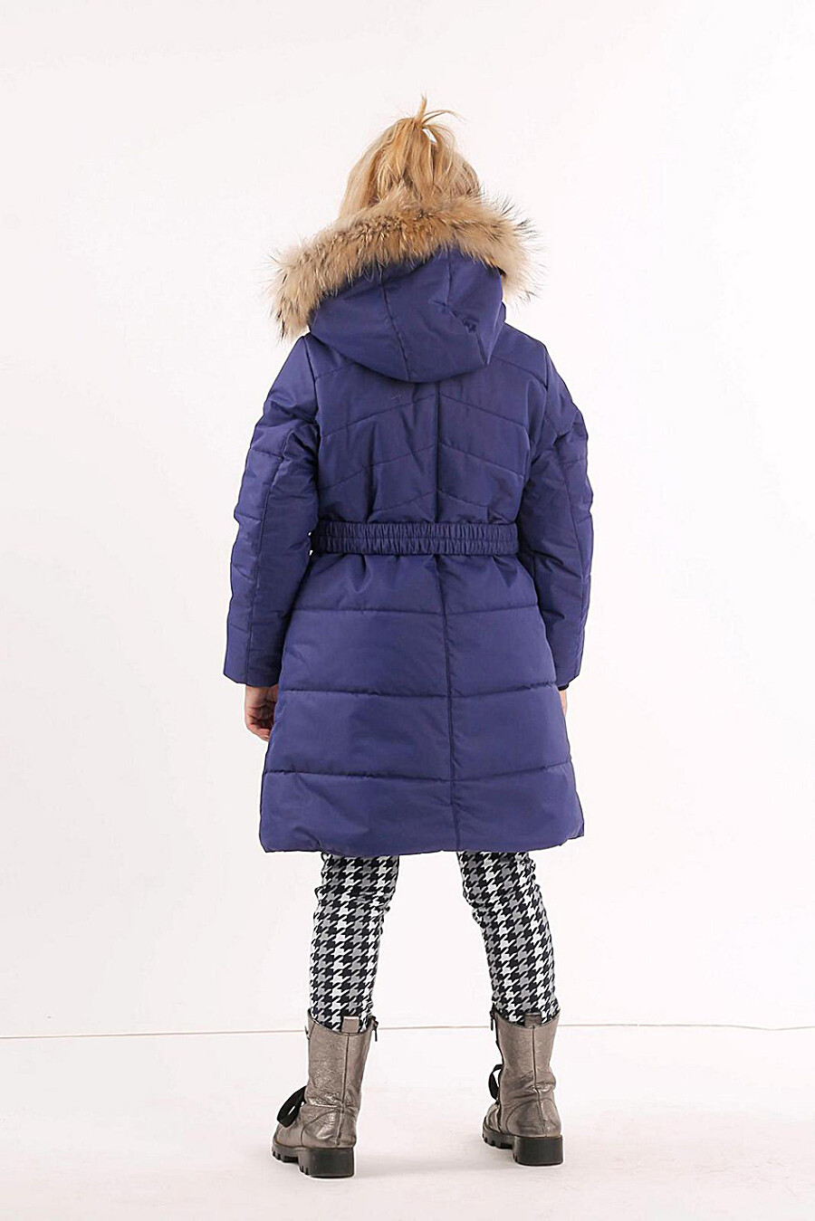 Пальто для девочек BATIK 247067 купить оптом от производителя. Совместная покупка детской одежды в OptMoyo