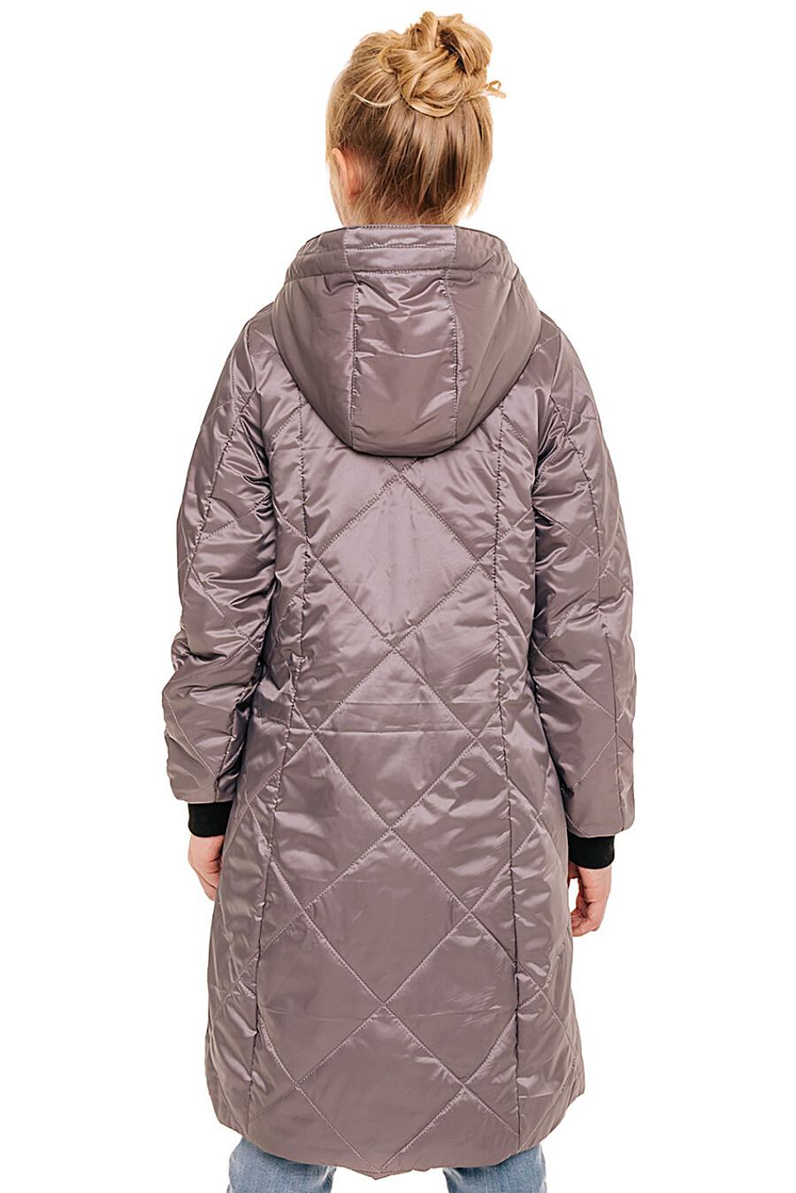 Пальто для девочек BATIK 247214 купить оптом от производителя. Совместная покупка детской одежды в OptMoyo