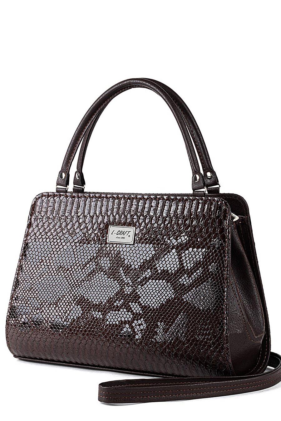 Сумка для женщин L-CRAFT 260340 купить оптом от производителя. Совместная покупка женской одежды в OptMoyo
