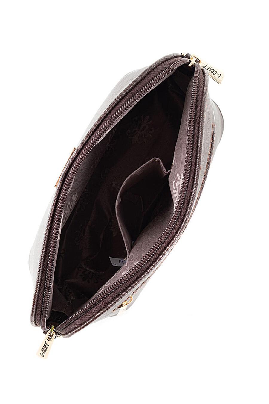 Сумка для женщин L-CRAFT 260401 купить оптом от производителя. Совместная покупка женской одежды в OptMoyo