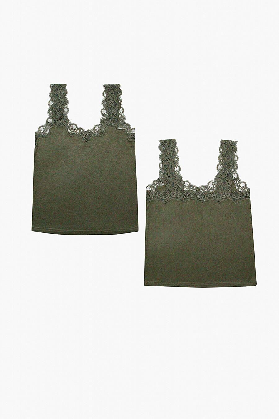Майка для женщин INDEFINI 260737 купить оптом от производителя. Совместная покупка женской одежды в OptMoyo