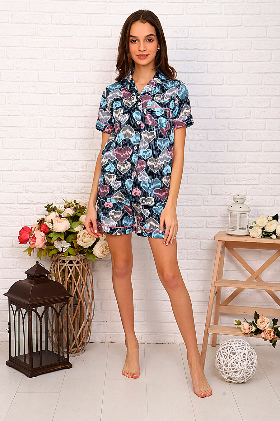 Пижама (Шорты+Футболка) СОФИЯ37 (261252), купить в Moyo.moda