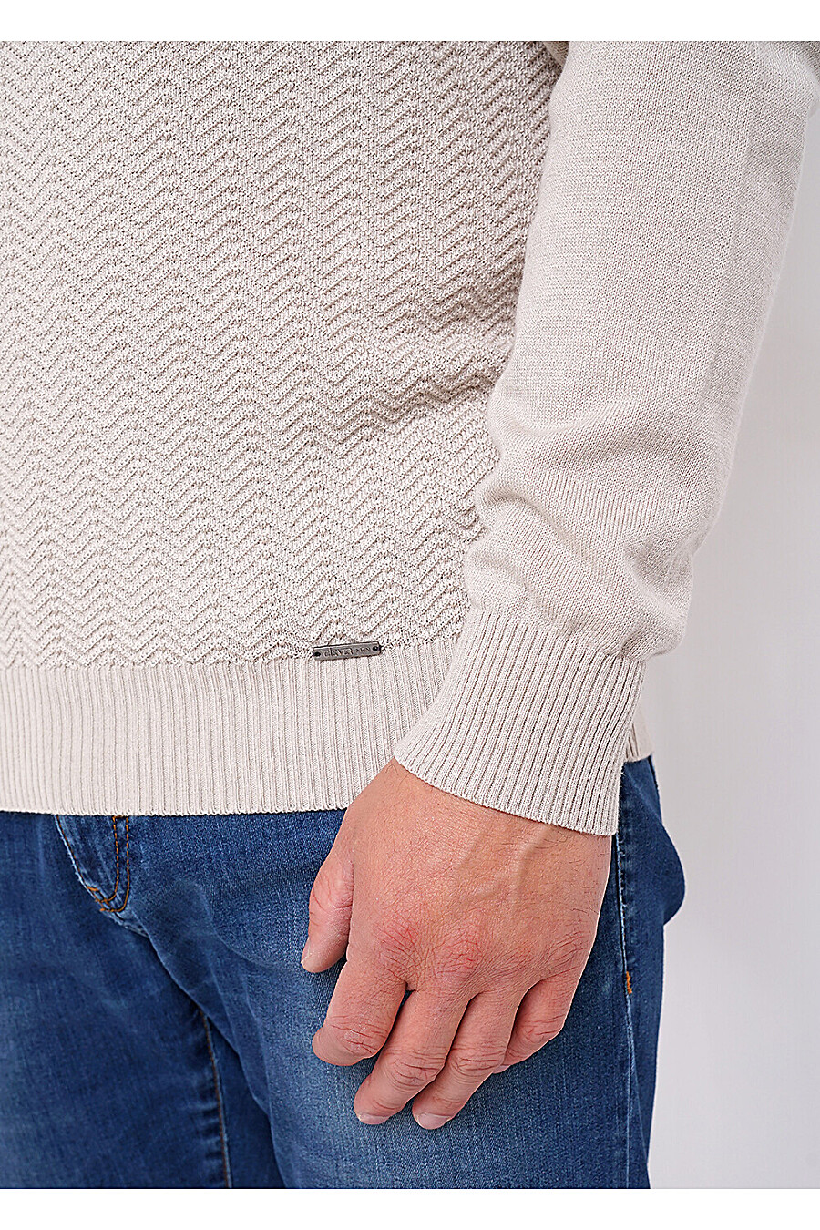 Водолазка для мужчин CLEVER 272727 купить оптом от производителя. Совместная покупка мужской одежды в OptMoyo