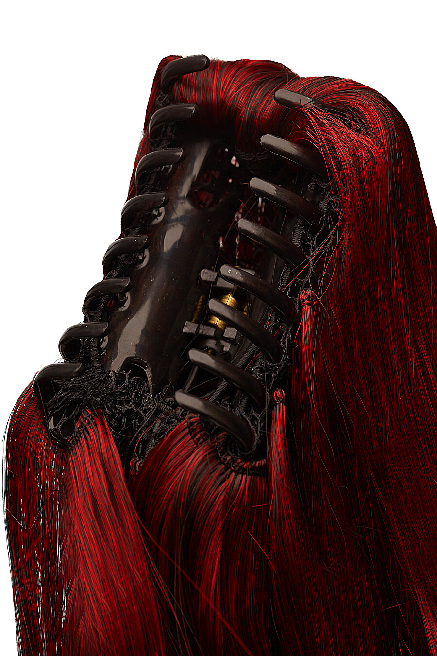 """Накладной хвост шиньон с заколкой накладные волосы с градиентно окрашенными прядями """"Кассандра"""" Nothing But Love (272813), купить в Moyo.moda"""