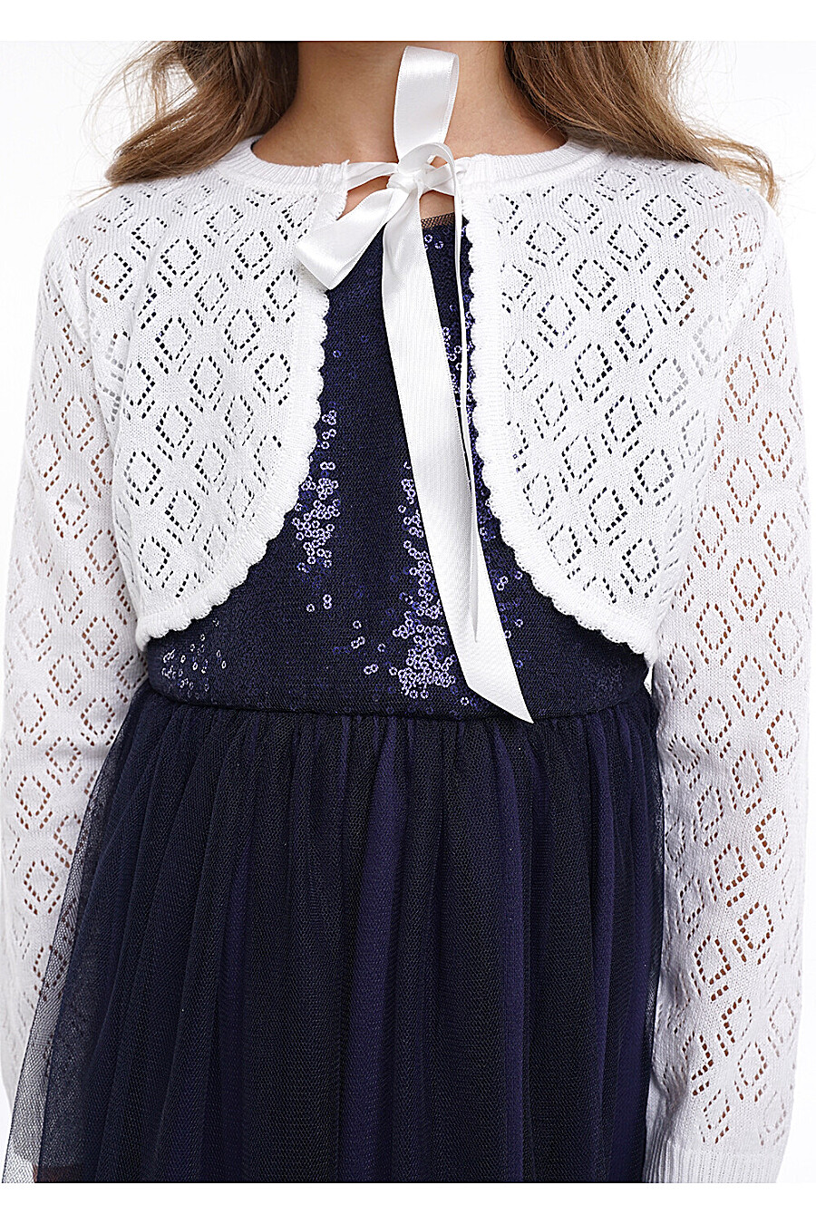 Болеро  для девочек CLEVER 272903 купить оптом от производителя. Совместная покупка детской одежды в OptMoyo