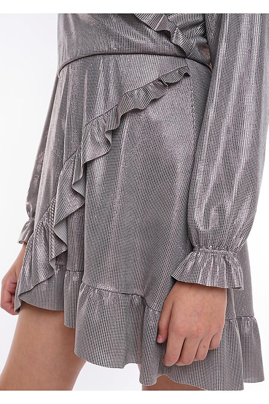 Платье для девочек CLEVER 272926 купить оптом от производителя. Совместная покупка детской одежды в OptMoyo