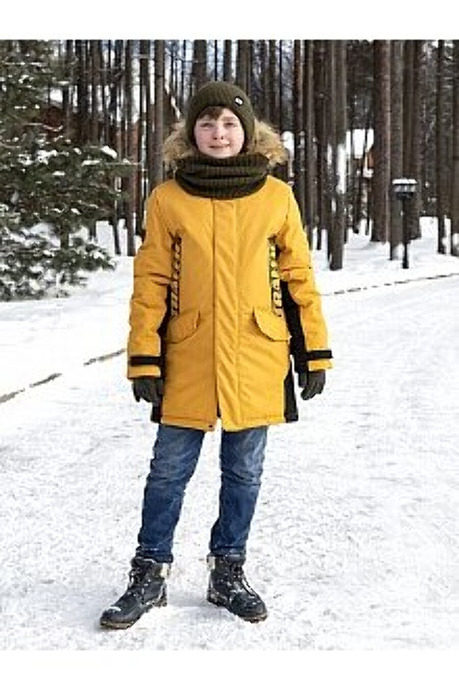 Куртка 4з3321 горчичный NIKASTYLE (289000), купить в Moyo.moda