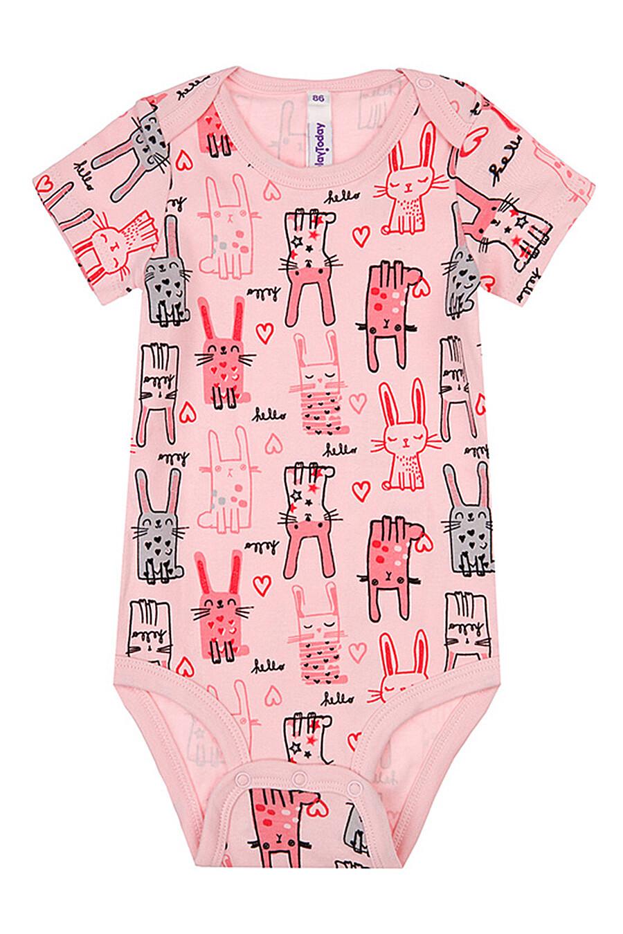 Боди 3 шт. для девочек PLAYTODAY 289496 купить оптом от производителя. Совместная покупка детской одежды в OptMoyo