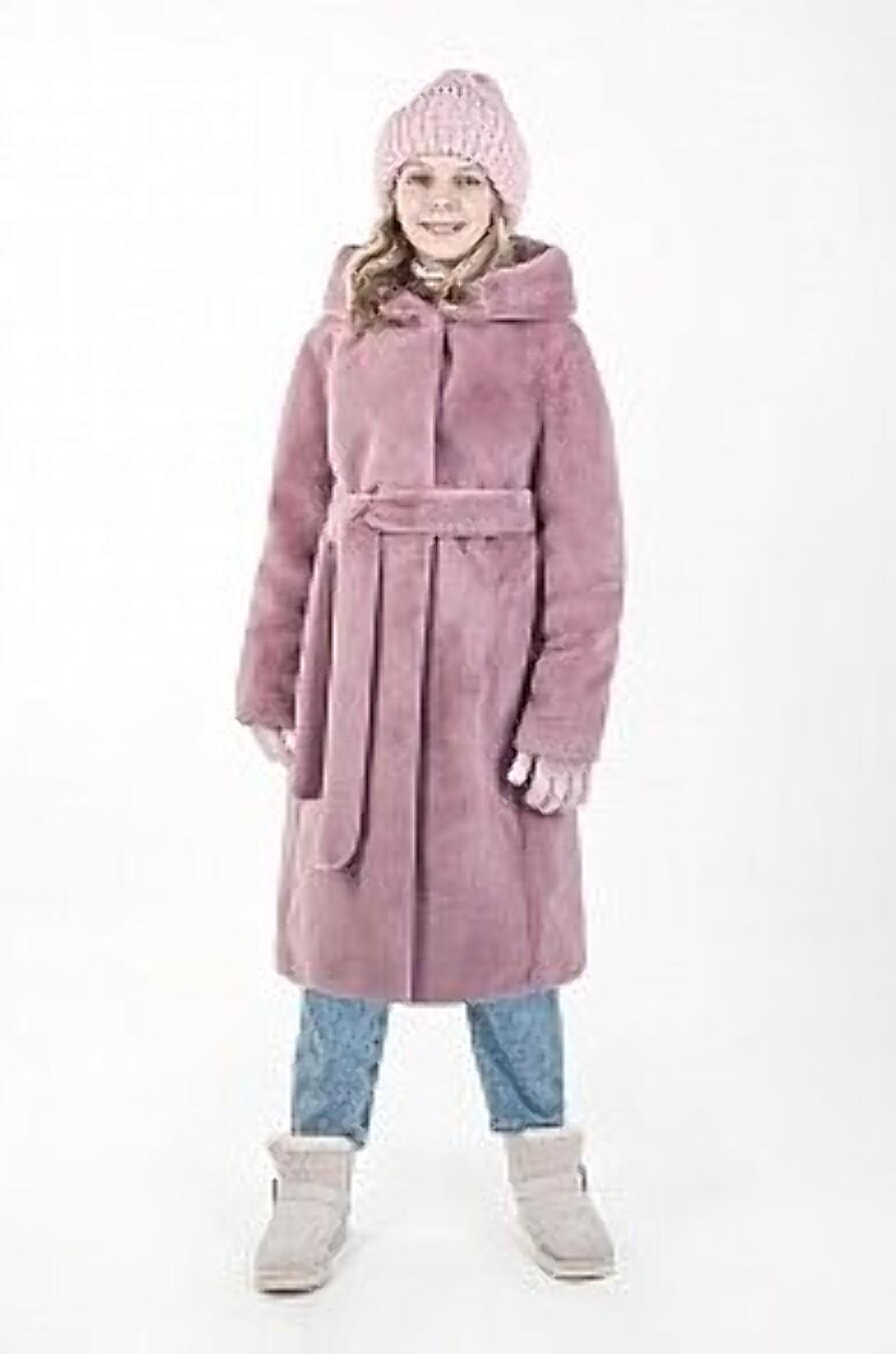 Пальто 6з6021 розовый NIKASTYLE (289628), купить в Moyo.moda