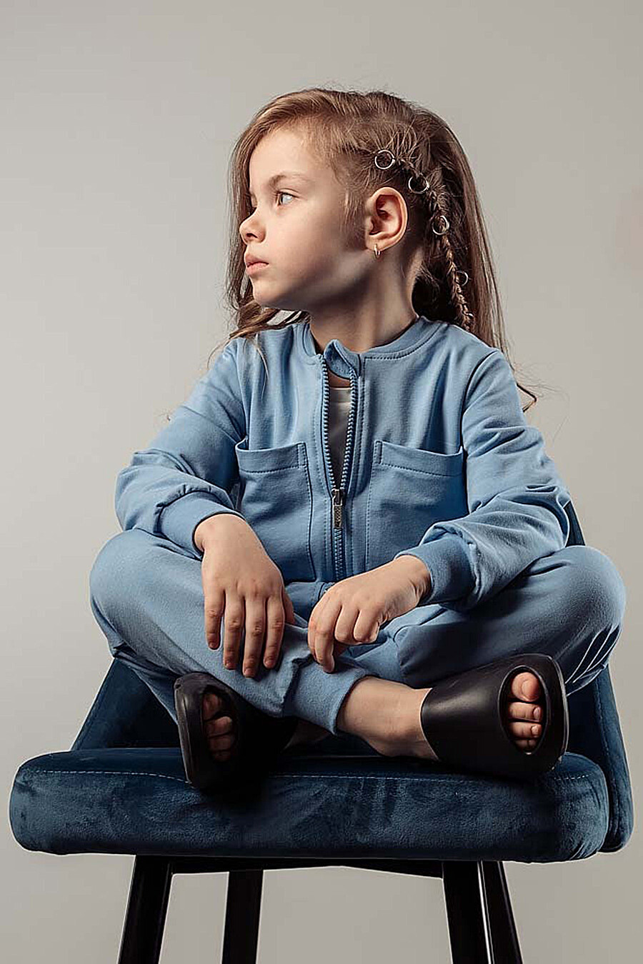 Комбинезон для девочек BODO 289858 купить оптом от производителя. Совместная покупка детской одежды в OptMoyo