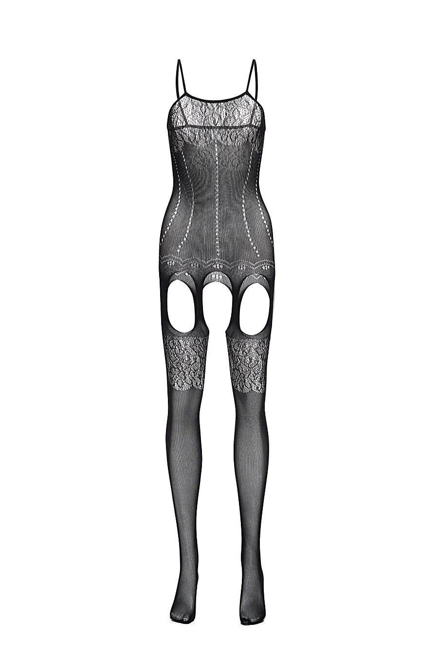 """Эротический комбинезон с открытой интимной зоной """"Горькая луна"""" LE CABARET (307848), купить в Moyo.moda"""