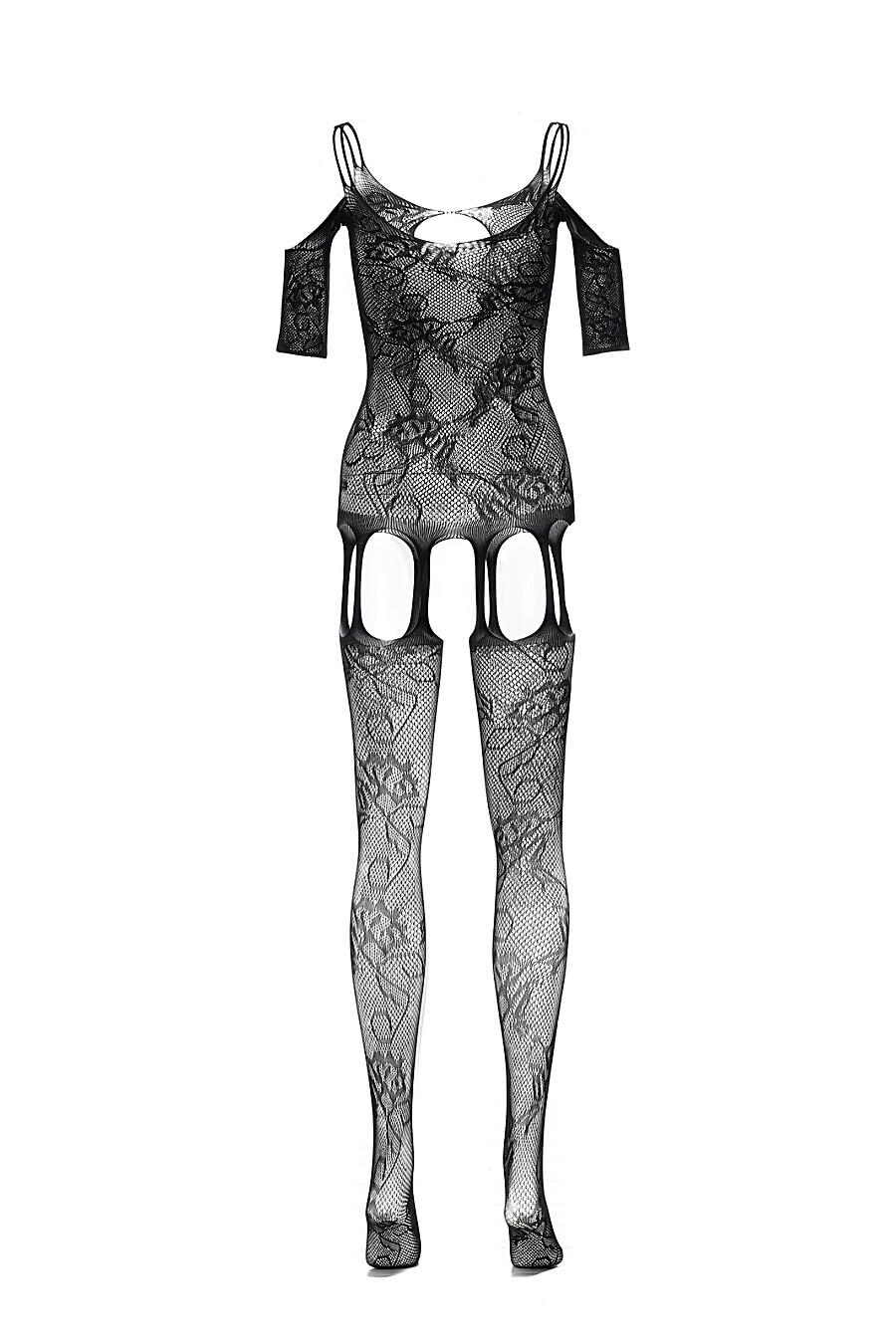 """Эротический комбинезон с открытой интимной зоной """"Леди Чаттерлей"""" LE CABARET (307858), купить в Moyo.moda"""