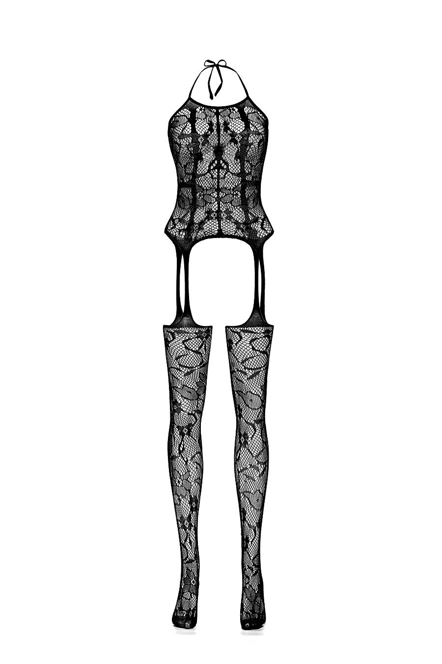 """Эротический комбинезон с открытой интимной зоной """"Убей меня нежно"""" LE CABARET (307864), купить в Moyo.moda"""