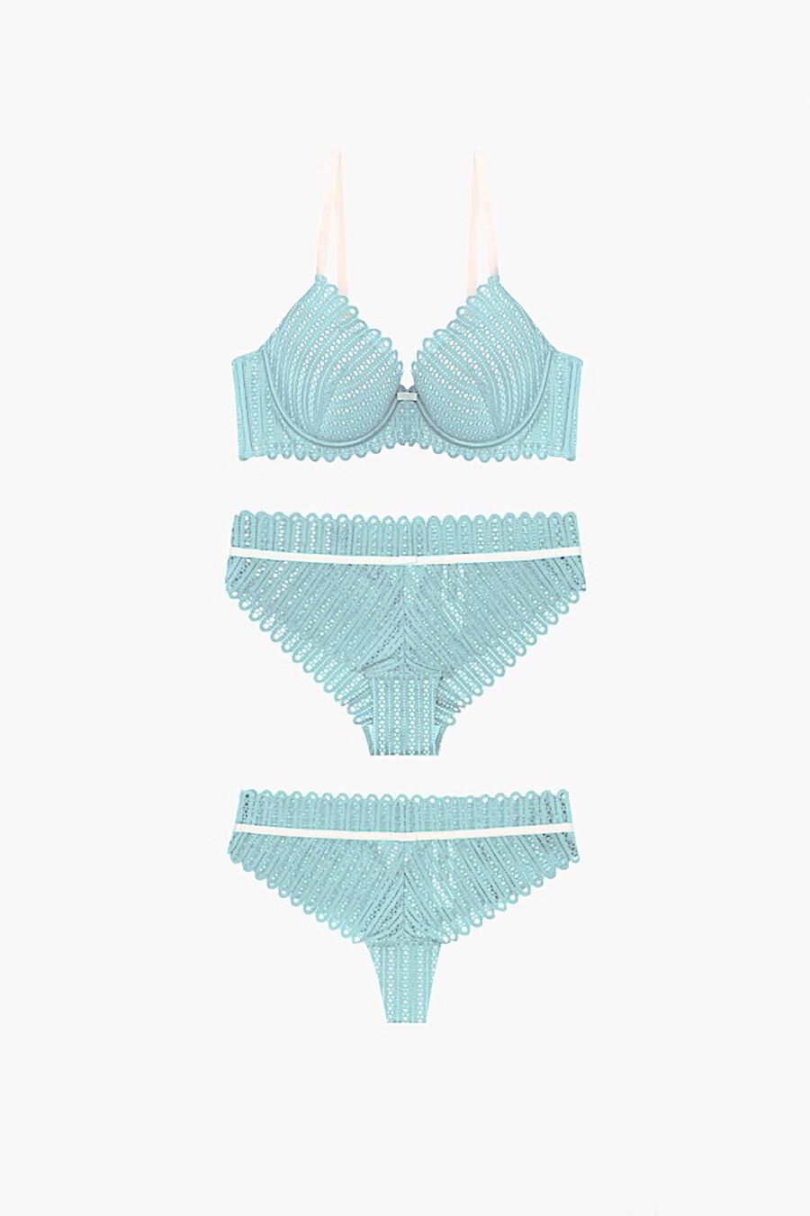 Комплект нижнего белья для женщин INDEFINI 321760 купить оптом от производителя. Совместная покупка женской одежды в OptMoyo