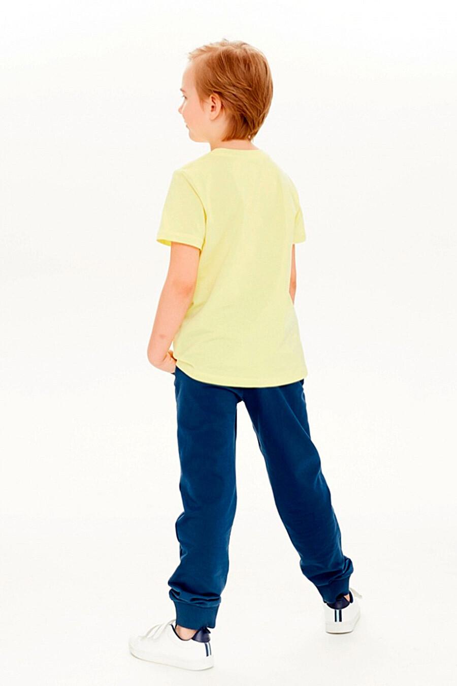 Брюки для мальчиков UMKA 321874 купить оптом от производителя. Совместная покупка детской одежды в OptMoyo