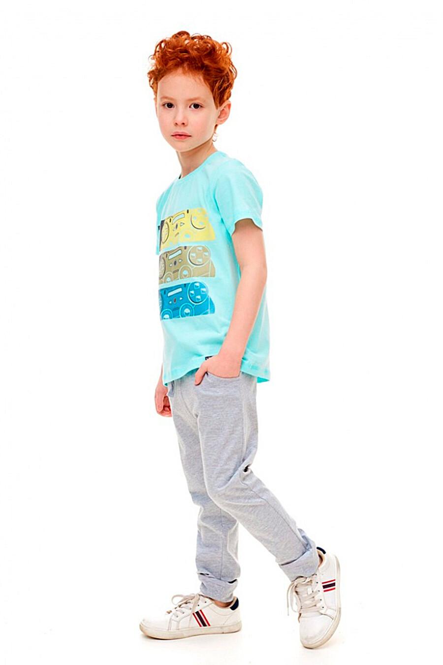 Брюки для мальчиков UMKA 321881 купить оптом от производителя. Совместная покупка детской одежды в OptMoyo