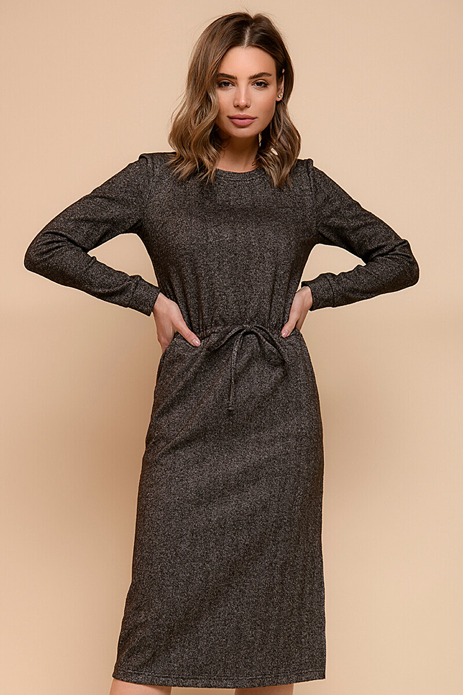 Платье для женщин 1001 DRESS 334724 купить оптом от производителя. Совместная покупка женской одежды в OptMoyo