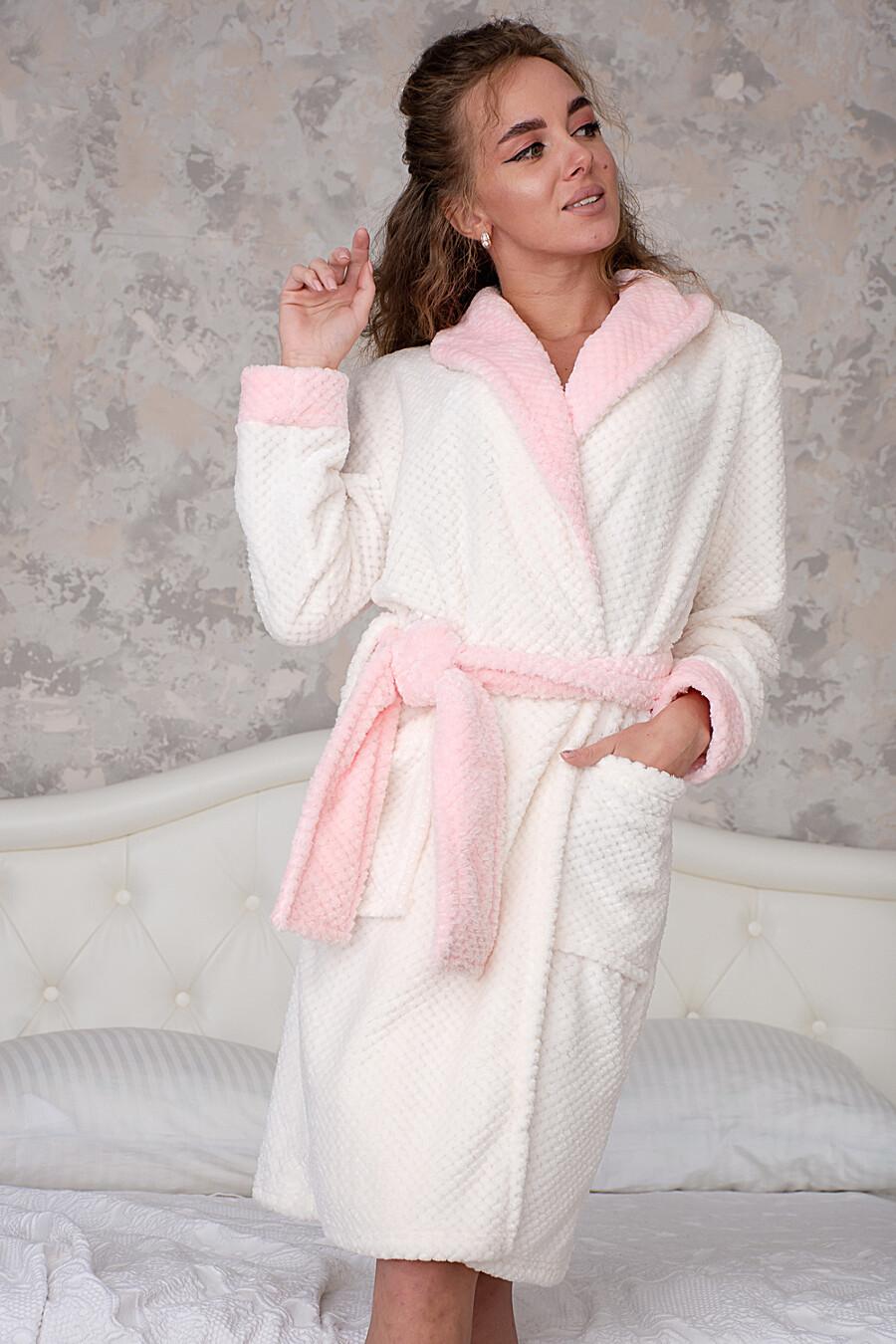 Халат 2442 для женщин НАТАЛИ 334782 купить оптом от производителя. Совместная покупка женской одежды в OptMoyo