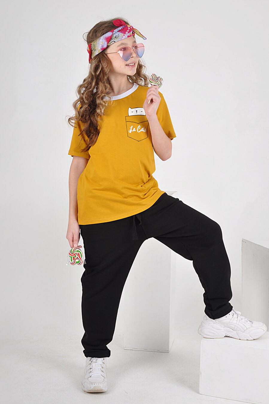 Футболка 1479 для девочек НАТАЛИ 334827 купить оптом от производителя. Совместная покупка детской одежды в OptMoyo