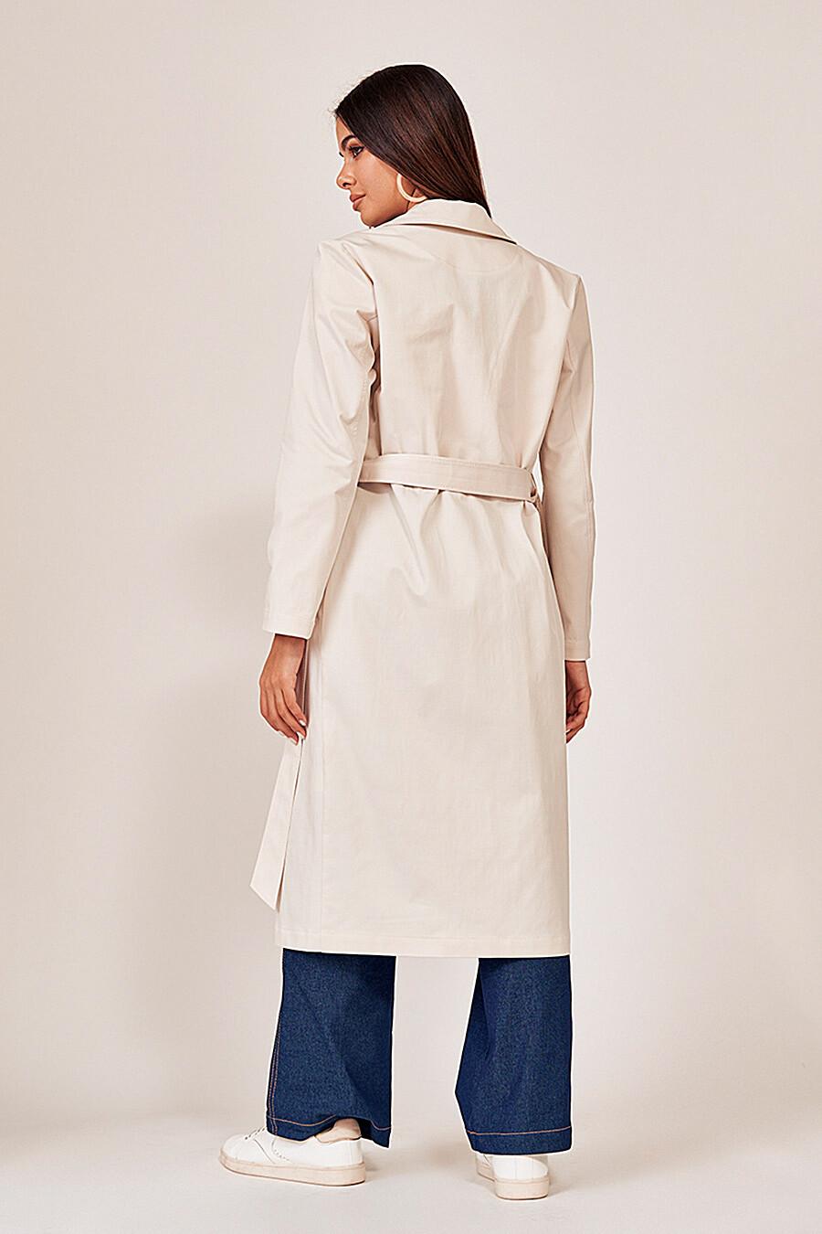 Тренч для женщин VITTORIA VICCI 334880 купить оптом от производителя. Совместная покупка женской одежды в OptMoyo