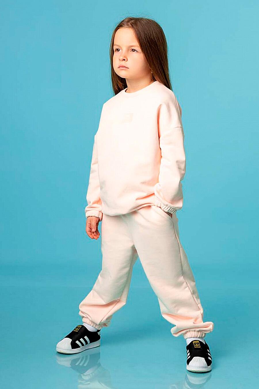 Толстовка для девочек BODO 334921 купить оптом от производителя. Совместная покупка детской одежды в OptMoyo